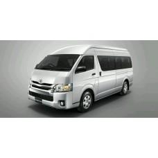 เช่ารถตู้ Toyota commuter VIP พร้อมคนขับทั่วประเทศ